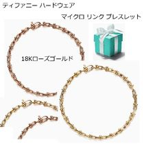 Tiffany*Hard Wear18KGoldマイクロ リンク ブレスレット