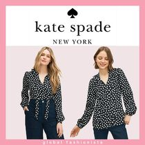 kate pade cloud dot blouse ブラウス