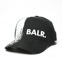 国内発送 BALR Chalk Striped Cap キャップ BLACK
