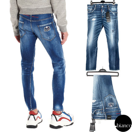 D SQUARED2 デニム・ジーパン 関税込DSQUARED2 2020SS Medium Scar Sexy Twist Jeans ロゴ