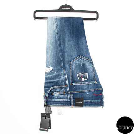 D SQUARED2 デニム・ジーパン 関税込DSQUARED2 2020SS Medium Scar Sexy Twist Jeans ロゴ(2)