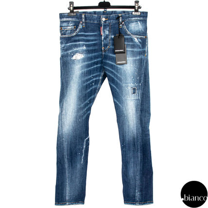 D SQUARED2 デニム・ジーパン 関税込DSQUARED2 2020SS Medium Scar Sexy Twist Jeans ロゴ(3)