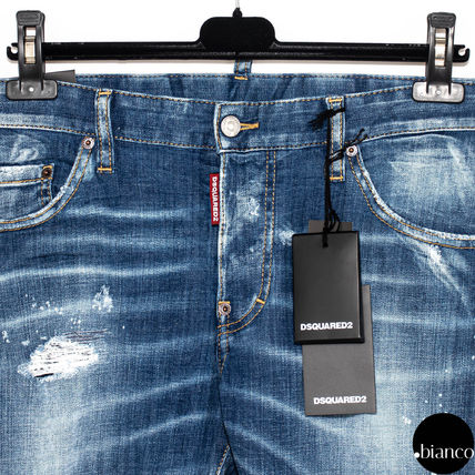 D SQUARED2 デニム・ジーパン 関税込DSQUARED2 2020SS Medium Scar Sexy Twist Jeans ロゴ(4)