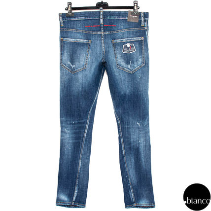 D SQUARED2 デニム・ジーパン 関税込DSQUARED2 2020SS Medium Scar Sexy Twist Jeans ロゴ(5)
