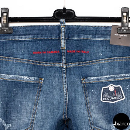 D SQUARED2 デニム・ジーパン 関税込DSQUARED2 2020SS Medium Scar Sexy Twist Jeans ロゴ(6)