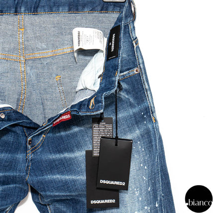 D SQUARED2 デニム・ジーパン 関税込DSQUARED2 2020SS Medium Scar Sexy Twist Jeans ロゴ(7)