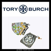 Tory Burch PRINTED FACE MASK SET マスク3枚セット ポーチ付