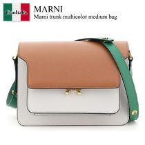 Marni trunk multicolor medium bag