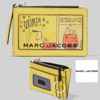 即完売!! PEANUTS X MARC JACOBS THE BOX TOP-ZIP MULTI WALLET