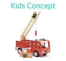Kids Concept(キッズコンセプト)★消防車 可愛い木製おもちゃ