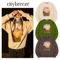【citybreeze】CITY LOOK AT ME HAMSTER NAPPING スウェット 3色