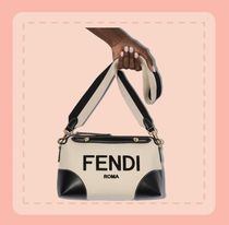 FENDI  BY THE WAY キャンバス バッグ