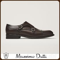 MassimoDutti♪BROWN LEATHER SHOES
