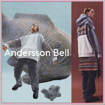 ☆ANDERSSON BELL☆UNISEX FABRIC CONTRAST SEOUL HOODIE☆2色☆