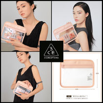 ☆ 3CE ☆ 3CE CLEAR FLAT POUCH PINK ☆ 2種