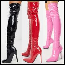 Public Desire Confidence over the knee boot