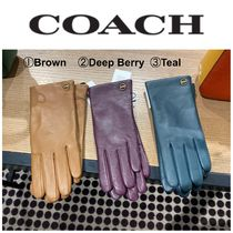 【COACH】●お買い得●76310●Leather Tech Gloves