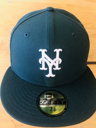 New Era 59Fifty New York Mets 2000 World Patch / Green Pink