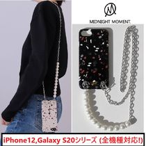 【MIDNIGHT MOMENT】terrazzo strap case iPhone,Galaxyケース