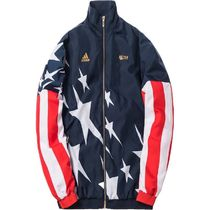 【送料関税込】Kith x adidas Soccer USA Windbreaker Navy/Red