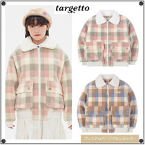 TARGETTO SEOULのCHECK BIG POCKET SHEARING JACKET 全2色
