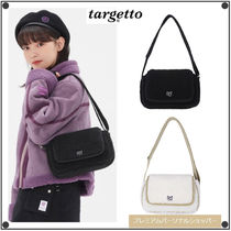 TARGETTO SEOULのTGT SHEARING HOBO BAG 全2色