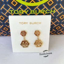 限定販売 Tory Burch★HEX LOGO DROP EARRING ピアス