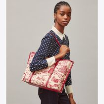 Tory Burch(トリーバーチ) Perry Printed Canvas Tote 64486