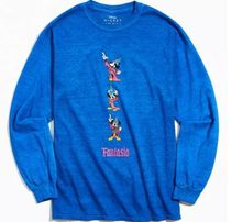 Mickey Mouse Fantasia Long Sleeve Tee ディズニー ミッキー