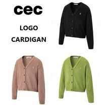 【ChanceChance】LOGO CARDIGAN