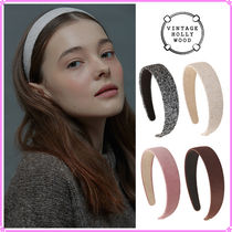 【VINTAGE HOLLYWOOD】Carrie Wide Hairband_4Color