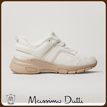 MassimoDutti♪LEATHER TRAINERS WITH COSY LINING
