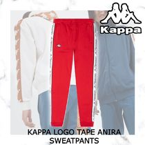 NEW!日本未入荷!KAPPA LOGO TAPE ANIRA SWEATPANTS-RED/WHITE