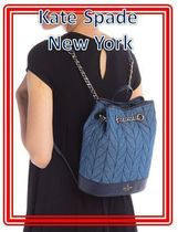 関税送料込 kate spade new york briar lane quilted backpack