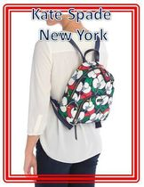 関税送料込 kate spade new york dawn breezy floral backpack