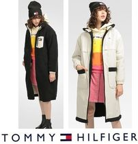 Tommy Jeans リバーシブルシェルパコート