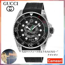 【安心米国購入】GUCCI Dive Black Dial