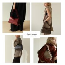 【LECCPROJECT】20fw LOG FLAP BAG
