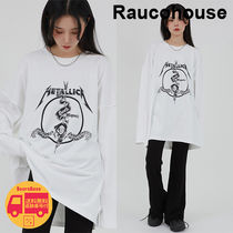 Raucohouse printed overlock long sleeve BBN1837 追跡付