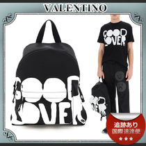 20AW/送料込≪Valentino≫ Lovers Language バックパック