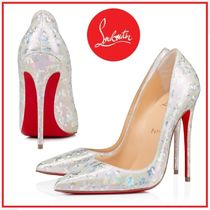 Christian Louboutin☆So Kate 120 mm メタリックパンプス☆送込
