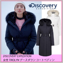 Discovery EXPEDITION☆TIROLYN グースダウン コートペディン☆