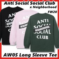 Anti Social Social Club x Neighborhood AW05 L/S Tee  FW 20