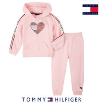 ★Tommy Hilfiger★ハートロゴスウェット上下セット キッズ