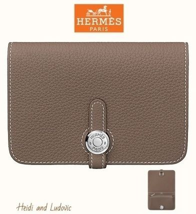 【HERMES】DHL発! 「Dogon Compact ドゴン コンパクト」/Etoupe