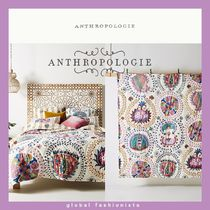 大人気!anthropologie Quilt キルト