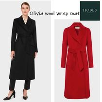 ★送料関税込★Hobbs London/Olivia wool wrap coat