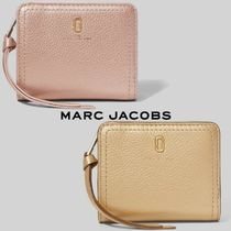 MARC JACOBS★THE SOFTSHOT PEARLIZED MINI COMPACT WALLET