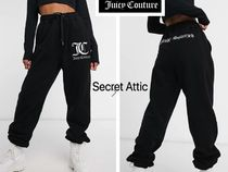 JUICY COUTURE(ジューシークチュール) パンツ 国内発送★Juicy Coutureロゴ&バック文字入りスエットパンツ