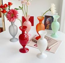 【220V】Mellow color glass vase interior vase